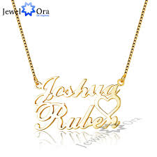 necklace length names images Standard name necklace with 2 names ne101650 jewelora jpg