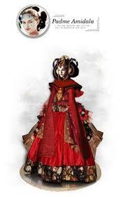 Queen Amidala Halloween Costume Queen Amidala Kimono Gown Queen Amidala Star Star Wars Padme