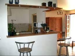 hauteur de bar cuisine petit bar cuisine construire un bar de cuisine hauteur d un bar de