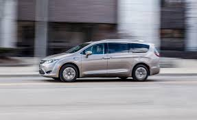 chrysler crossover 2017 chrysler pacifica hybrid test review car and driver