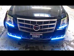 cadillac cts lights 09 cadillac cts with r tech white led strips and switchback led