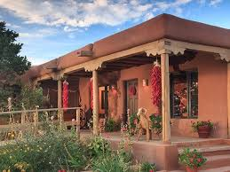Santa Fe Style House 218 Best Adobe Style Homes Images On Pinterest Haciendas