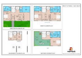 supertech sports village city floorplan