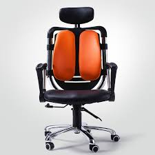 movable backrest ergonomic office chair reclining swivel computer