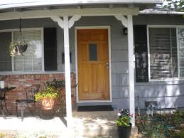 Front Door Colors For Gray House White Wood Frame Glass Front Door Colors For Grey House Wooden