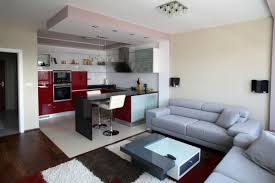 kitchen categoriez playing in detail with modern kitchen design kitchen large size simple interior setting of architecture modern apartment displaying grey themed living room