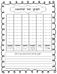 First Grade Math Coloring Worksheets This Weather Bar Graph Will Be Used During Our Math Lesson