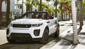 land rover defender convertible 2016 range rover evoque convertible la