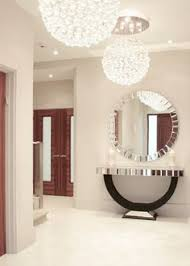 entrance table and mirror quartz mirrored half moon console table for my hall pinterest