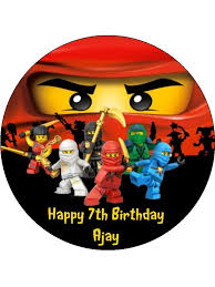 ninjago cake topper caketopperdesigns edible cake toppers
