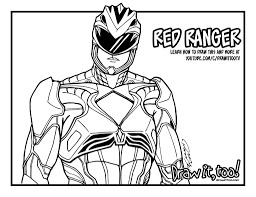 awesome power rangers coloring book pictures pages