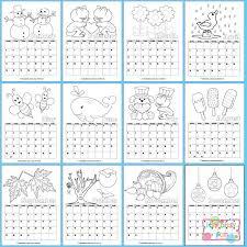 printable calendar for kids 2018 printable calendars free
