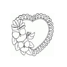33 dessins de coloriage coeur à imprimer