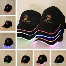 hats with lights built in hat ultra bright lights unisex baseball cap one size fits all blue