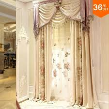 Curtains For Dressing Room Embroidery Flower Curtains For Dressing Room Drapes The