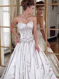 wedding dresses with a corset dresscab