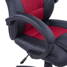 Computer Gaming Chair And Desk by Homcom Racing Gaming Sports Chair Swivel Desk Chair Executive