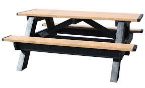 Picnic Table Frame Vestil Picnic Tables