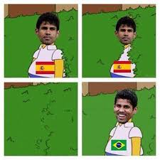 Diego Costa Meme - spain is out the bluebird diaries