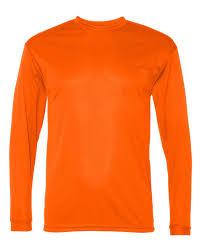 men u0027s moisture wicking dri fit long sleeve sport tek t shirt new