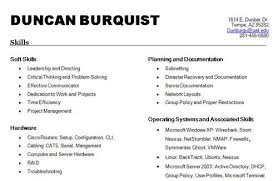 list of skills to put on a resume best business template