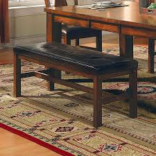 shop steve silver company lakewood dining bench at lowes com