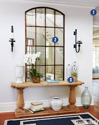 Entryway Decorating Ideas Pictures Libby Langdon Entry Makeover Foyer Decorating Ideas