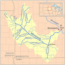 Lake Maps Mn Minnesota River U2013 Wikipedia
