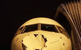 Oklahoma Travel Air images Okc thunder players surprised to find huge dent in plane after jpg%3