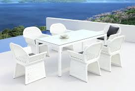 Outdoor Tablecloths For Umbrella Tables by White Outdoor Tables U2013 Atelier Theater Com