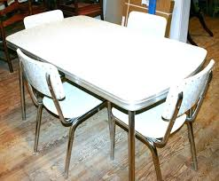 retro dining table and chairs retro kitchen tables and chairs or chrome kitchen table and chairs