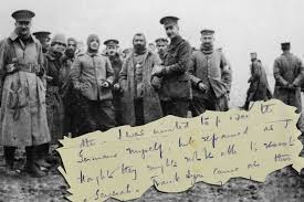 a 1st world war tale the xmas day peace truce of 1914 part one