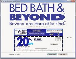 Bed Bath N Beyond Coupon Online Bedbathandbeyond Coupon Car Wash Voucher