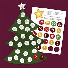 free ez print countdown tree