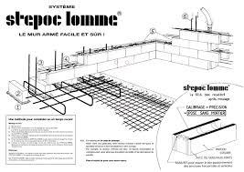 Pose En Coffrage Armatures Sur Plans Murs Armés é Par é Béton De La Lomme