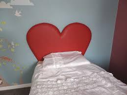 Childrens Bed Headboards Heart Headboard U2013 Children Or Teenagers Headboard Girls Room