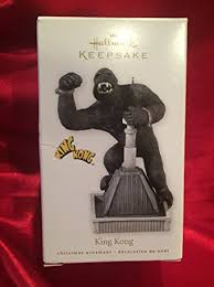 2010 hallmark ornament king kong empire state nyc