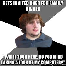 Old Internet Memes - we get by with a little help from our kids my new old self
