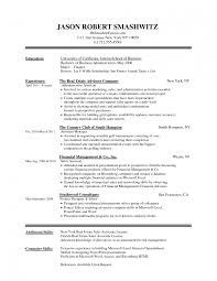 Formal Resume Template Formal Resume Format Word Simplest Sample Canadian Template Do