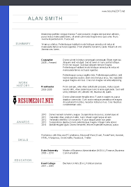 Examples Of Chronological Resumes by Chronological Resume Format 2017 U2022