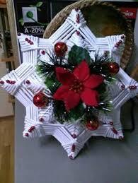 vánoční pletení pletenie z papiera plet košíkov a pod