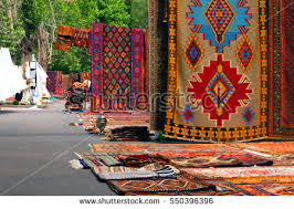 armenian carpets hall armenian dragon style stock photo 550396396