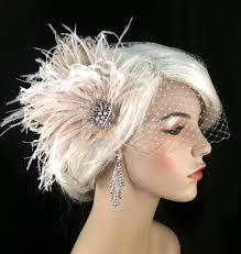great gatsby hair accessories bridal fascinator bridal hair accessories bridal veil set