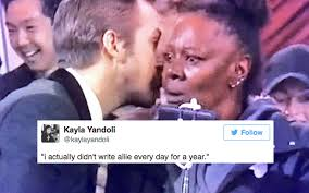 Meme Ryan Gosling - ryan gosling whispering sweet nothings is twitter s fav new oscars