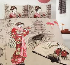 Asian Bedding Set Cherry Blossom Bedding For All Modern Home Designs