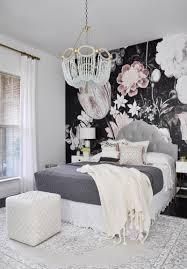 floral wallpaper mural watercolor peony large self adhesive fabulous bedroom remodel with floor to ceiling wallpaper mural behind bed
