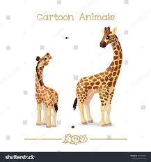 vector pic series cartoon animals amusing stock vector 581954386