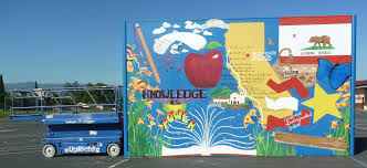 Guadalupe Flag Phase 2 And Ball Wall At John J Montgomery Elementary U2013 Creative