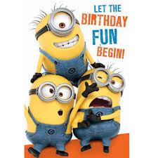 Minions Invitation Card Minion Birthday Card Collection Ebay