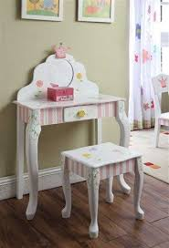 little girls table and chair set girls children s kids princess crown frog vanity table chair set